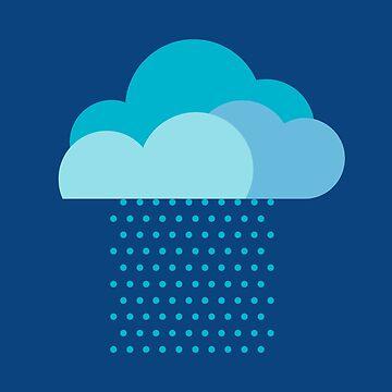 ¡Amamos el clima! lluvia, nubes, agua, gota de agua, primavera, verano, otoño de boom-art