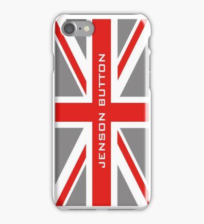Jenson Button - Team Colours iPhone Case/Skin