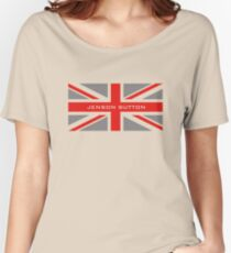 Jenson Button - Team Colours Women's Relaxed Fit T-Shirt