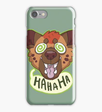 Ha Hyena iPhone Case/Skin