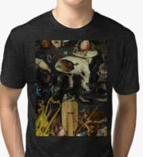 The Garden of Earthly Delights by Hieronymus Bosch Tri-blend T-Shirt