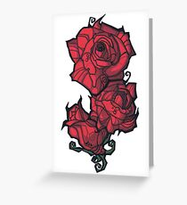 The Rose. Greeting Card