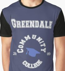 Commuinity- Greendale College Graphic T-Shirt