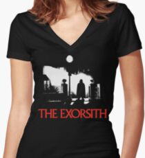 The Exorsith Women's Fitted V-Neck T-Shirt