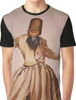 The Remembrance of Allah - A Sufi Whirling Dervish Graphic T-Shirt