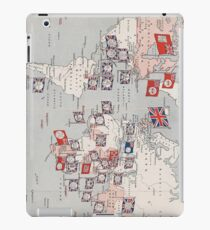 Vintage British Empire World Map (1910) iPad Case/Skin