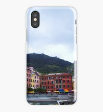 Colorful harbor of Vernazza iPhone Case