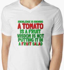 Food Humor Funny Tomato Cute Random Quote T-Shirt