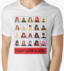 Fight Like A (Marvel) Girl. T-Shirt