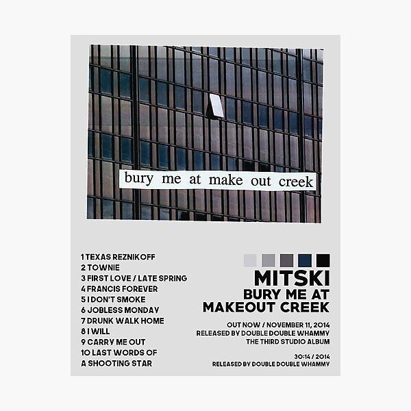 List Cover Mitski Photographic Print