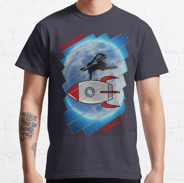 ⚡ ⚡ Awesome Rocket vault parkour move illustration ⚡⚡ Classic T-Shirt