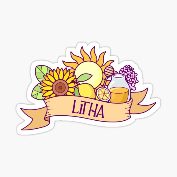 Litha - Wheel of the Year Sticker