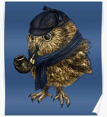 Sherlock // owl Poster