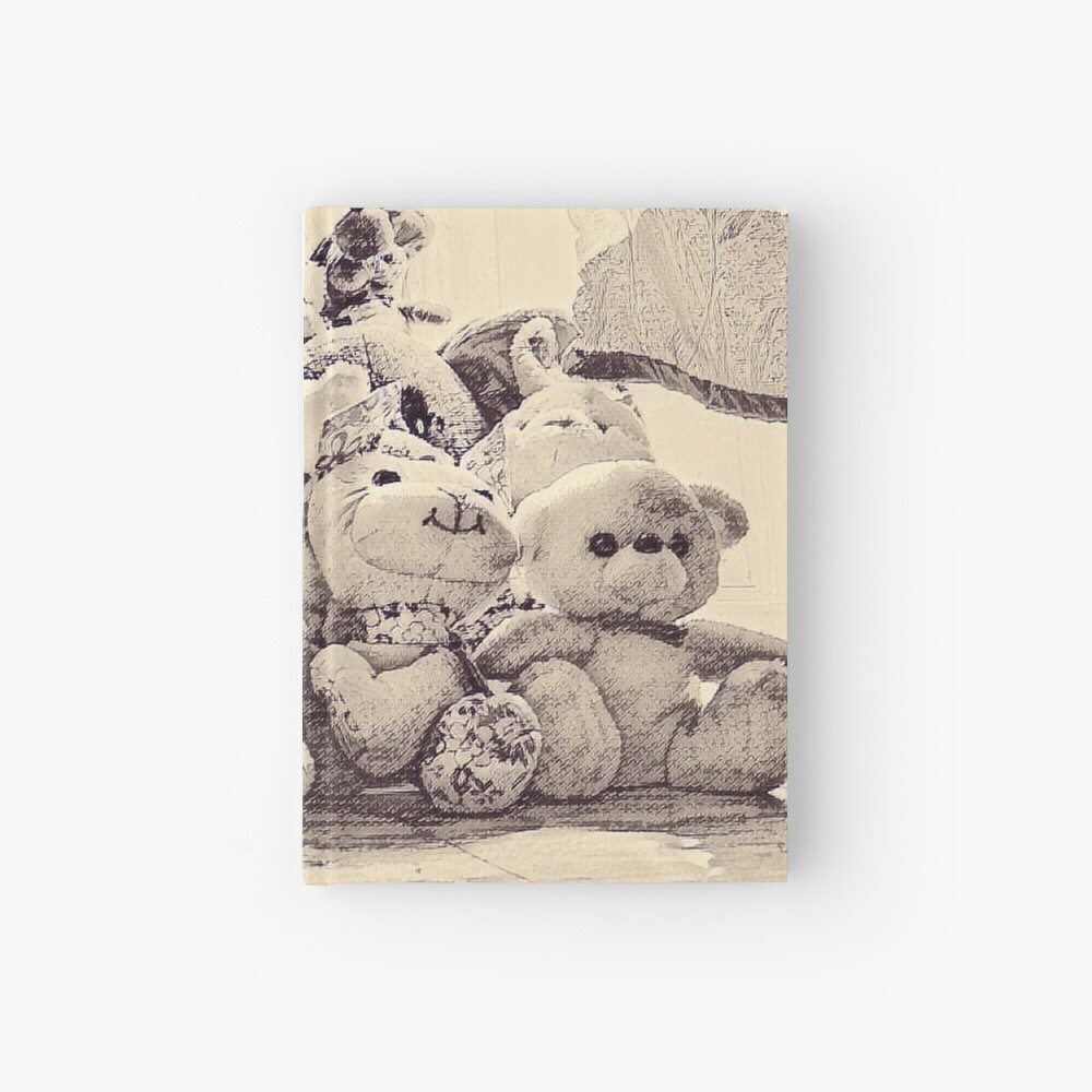 Toys On The Floor Hardcover Journal
