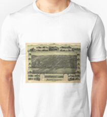 Vintage Atlantic Highlands NJ Map (1894) Unisex T-Shirt
