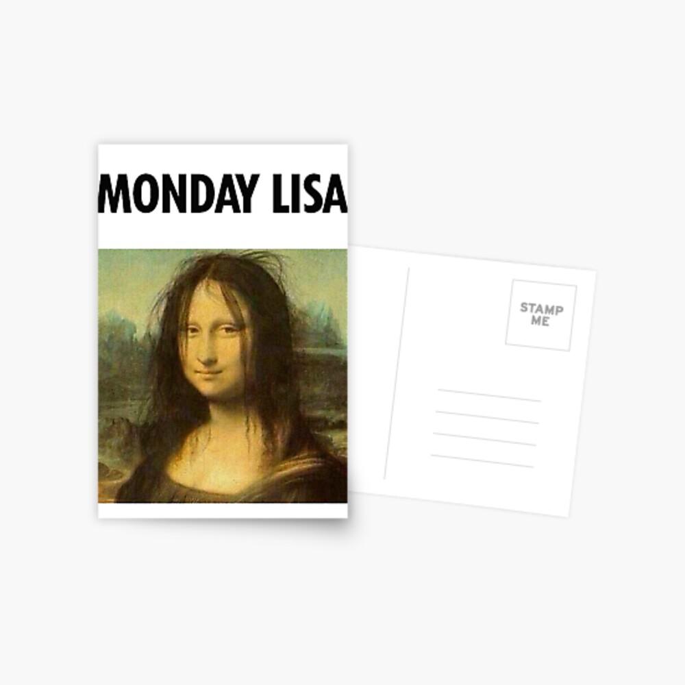 Gioconda Monday Postcard