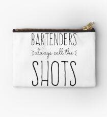 Barkeeper rufen immer die Schüsse Täschchen