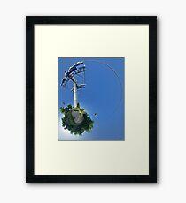 Cable car at Floriade 2012 Framed Print