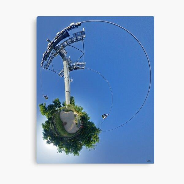 Cable car at Floriade 2012 Canvas Print