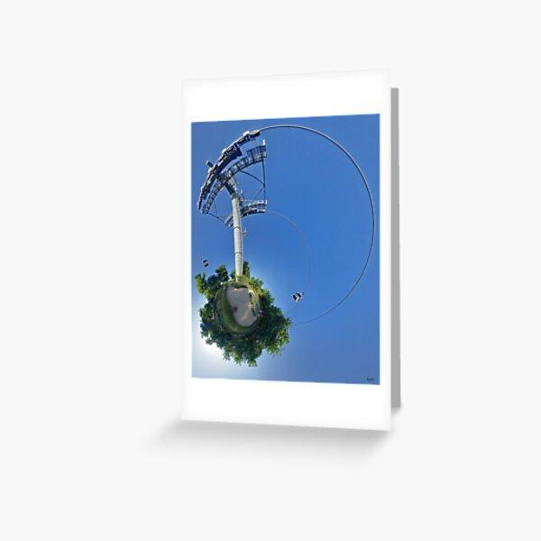 Cable car at Floriade 2012 Greeting Card