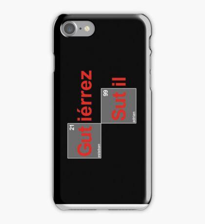 Team Sutil Gutierrez (black T's) iPhone Case/Skin