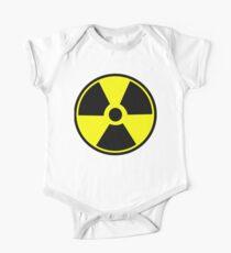 Radiation Hazard Warning One Piece - Short Sleeve