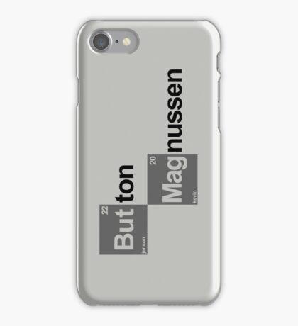 Team Button Magnussen (white T's) iPhone Case/Skin