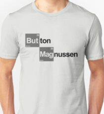 Team Button Magnussen (white T's) T-Shirt