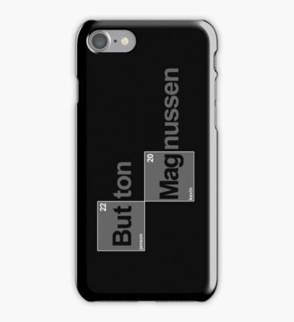 Team Button Magnussen (black T's) iPhone Case/Skin