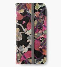 Floral Arabesque New Noveau Decorative Pattern  iPhone Wallet