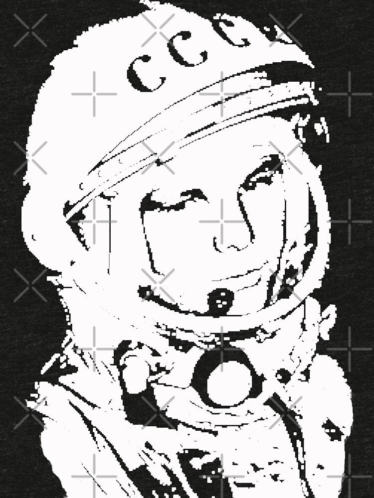 Yuri Gagarin # 1 para siempre de Discobeef