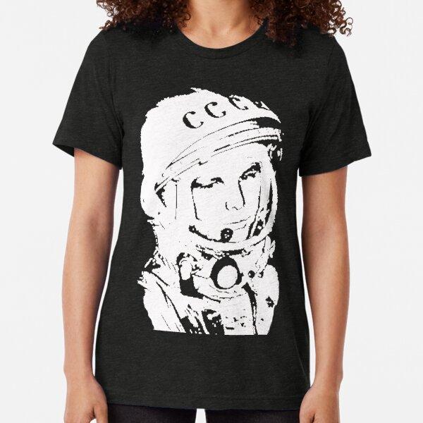 Yuri Gagarin #1 Forever Tri-blend T-Shirt
