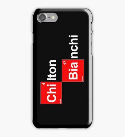 Team Chilton Bianchi (white T's) iPhone Case/Skin