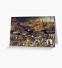 The Apocalypse by Hieronymus Bosch Greeting Card