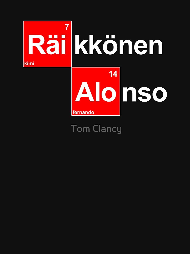 Team Raikkonen Alonso (black T's) by RetroLink