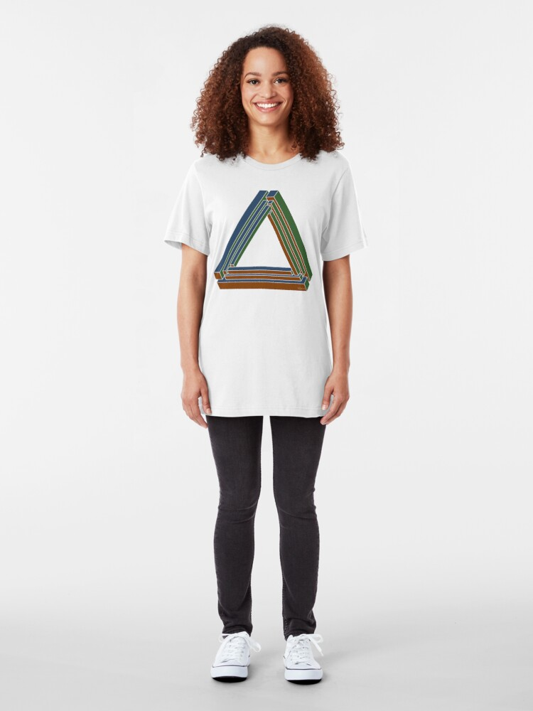 Alternate view of Sarcone's tribar Slim Fit T-Shirt