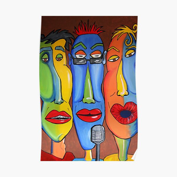 Talking Heads Poster