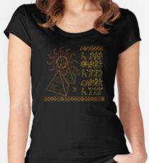 Ancient Tablets of Roleplaying Knowledge Women's Fitted Scoop T-Shirt