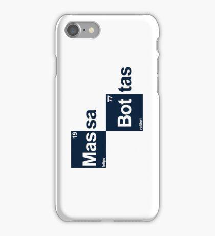 Team Massa Bottas (white T's) iPhone Case/Skin