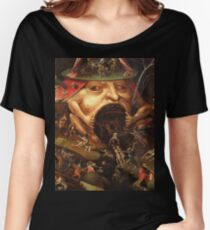Insight into Hell 3 by Hieronymus Bosch Women's Relaxed Fit T-Shirt