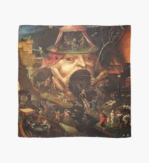Insight into Hell 3 by Hieronymus Bosch Scarf