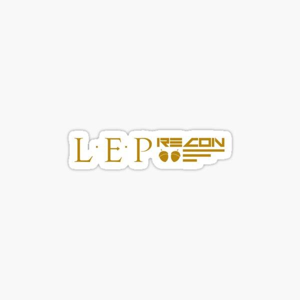 LEPrecon Sticker