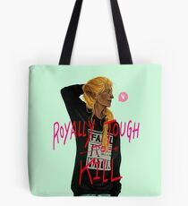 Zevran - Royally Tough to Kill Tote Bag