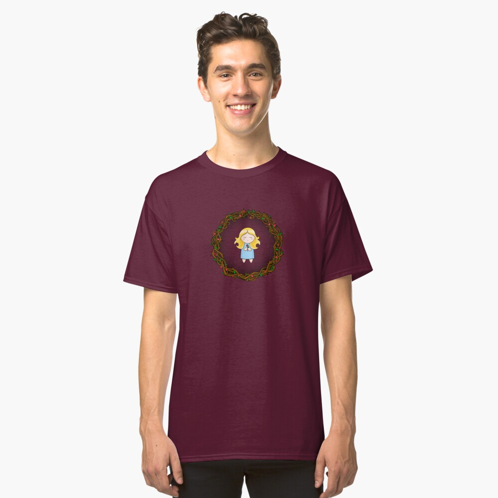 Girl In The Brambles Classic T-Shirt