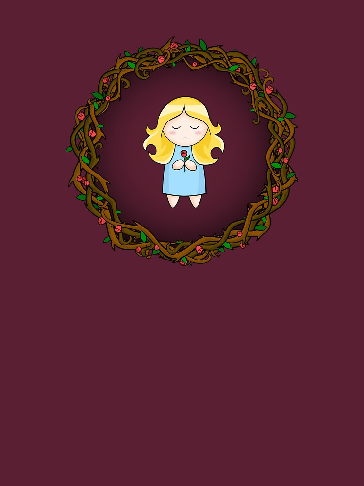 Girl In The Brambles by Cheeseness