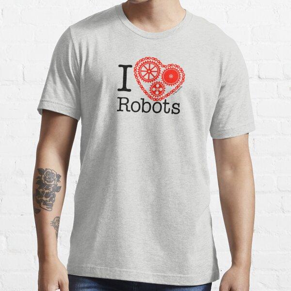 I Cog Robots v1.0 Essential T-Shirt