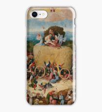 Hieronymus Bosch : The Hay Wain iPhone Case/Skin