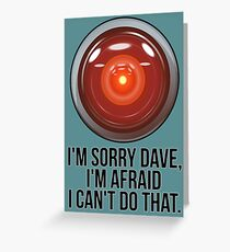 HAL Greeting Card