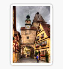 Roeder Arch & Markus Tower Sticker