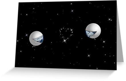 "The Constellation ""Lof"" - two lof bees by Josh Bush"